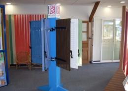 Showroom Lesquel exemple de réalisation de volets