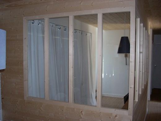 Showroom Lesquel Exemple de réalisation d'une verrière d'intérieur