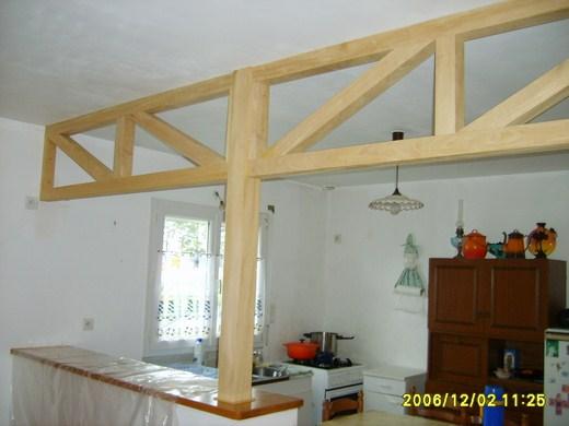 Showroom Lesquel Exemple de réalisation charpente